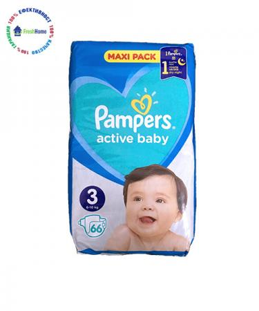 pampers active baby 3ka 66 broya