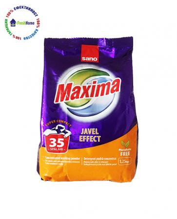 sano maxima javel efekt 35 universalen prah za prane