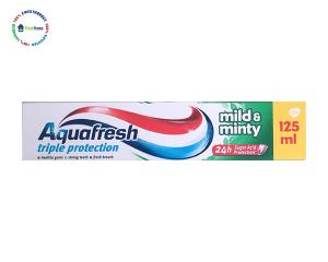 aquafresh triple protection mild and minty pasta za zubi troina zashtita