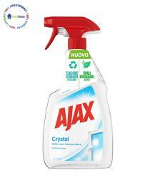 ajax srystal spray glass amoniac