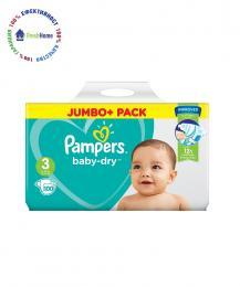 pampersi pampers baby-dry 3ka 100 br anglia jumbo pack