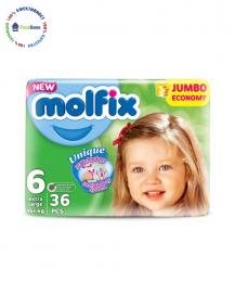 pampersi peleni molfix 6