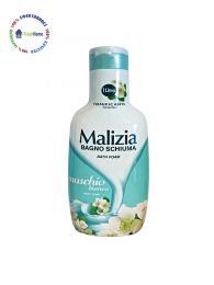 malizia dush gel 1l. muschio bianco