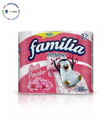 familia toaletna hartiya powder soft rozova