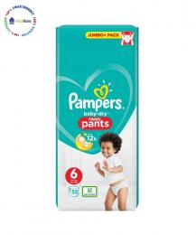 pampers baby dry 6 jumbo pack