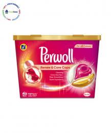 perwoll  renew and care caps color kapsuli za cvetno prane