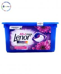 lenor all in one pods amethyst color waschmittel kapsuli za cvteno prane