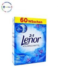 lenor 60 kutiyan 2in1 vollwaschmittel prah za byalo prane germanya